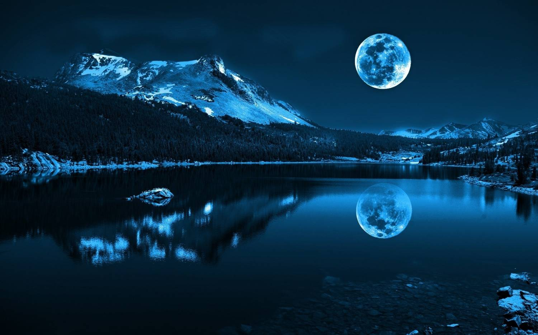 Картинки луна природа